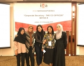 Director of operational ICSA & CorpSec Lippo Cikarang Tbk - Dea Thamrin