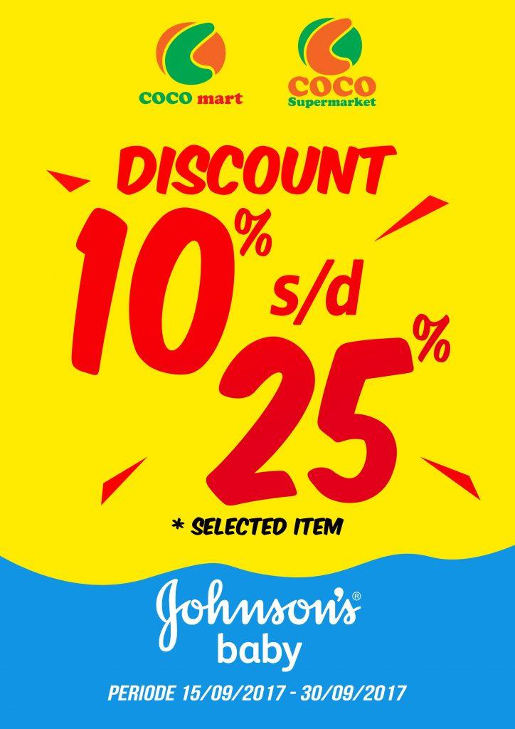 Promo Jhonson - COCO MART - COCO SUPERMARKET - RETAIL BALI