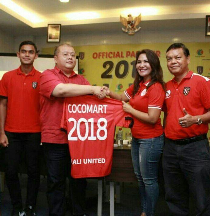 Coco Mart Official Partner Bali United 2018, COCO GROUP BALI, COCO SUPERMARKET BALI, COCO EXPRESS BALI, COCO MART BALI, RETAIL BALI, COCO GOURMET BALI, COCO GROSIR BALI, COCO ROTI BALI, RETAIL MURAH BALI, COCO DEWATA TANAH LOT BALI