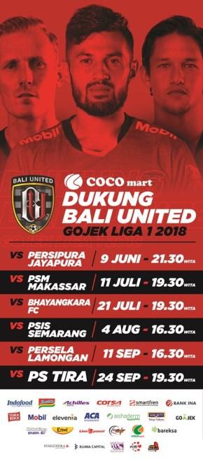 Jadwal Bali United, , COCO GROUP BALI, COCO SUPERMARKET BALI, COCO EXPRESS BALI, COCO MART BALI, RETAIL BALI, COCO GOURMET BALI, COCO GROSIR BALI, COCO ROTI BALI, RETAIL MURAH BALI, COCO DEWATA TANAH LOT BALI