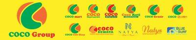 Signature Logo Coco Group, COCO GROUP BALI, COCO SUPERMARKET BALI, COCO EXPRESS BALI, COCO MART BALI, RETAIL BALI, COCO GOURMET BALI, COCO GROSIR BALI, COCO ROTI BALI, RETAIL MURAH BALI, COCO DEWATA TANAH LOT BALI
