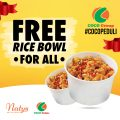 FREE RICE BOWL for ALL